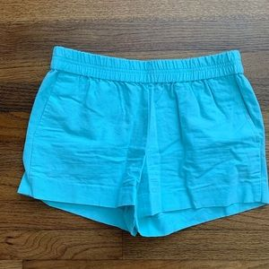J. Crew EUC 3 inch pull on shorts - mint